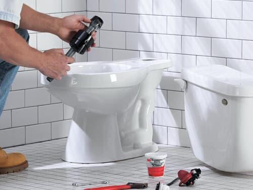 Монтаж туалета